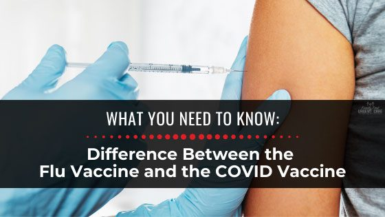Difference Between the Flu Vaccine and the COVID Vaccine