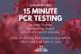 15 Minute Molecular PCR Testing Now Available, Perfect for Traveling